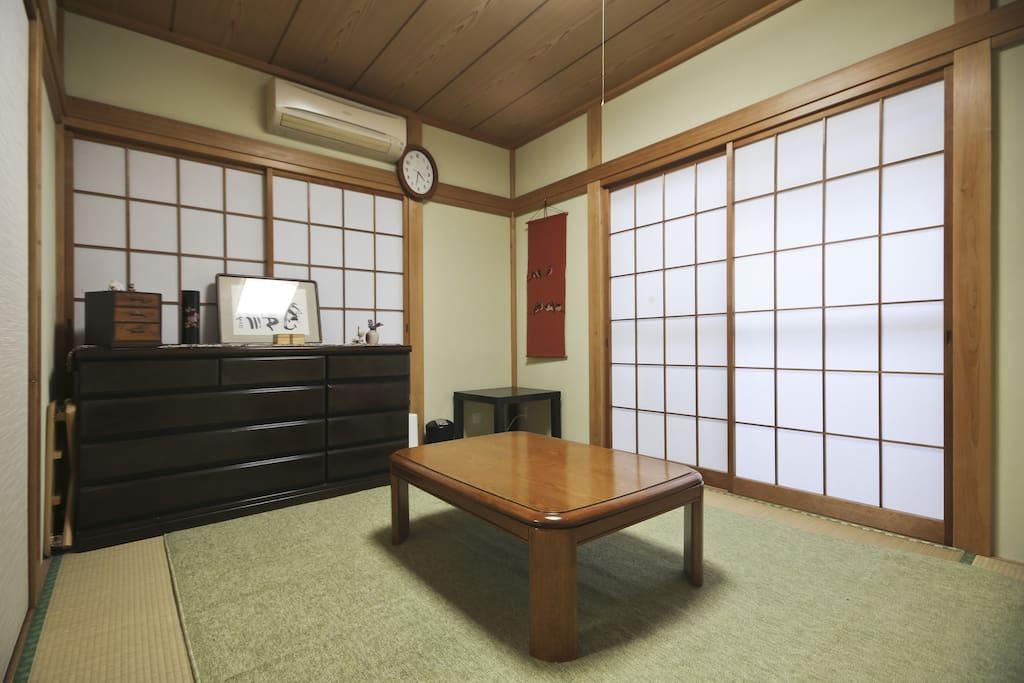 Traditional Japanese room(Washitsu)