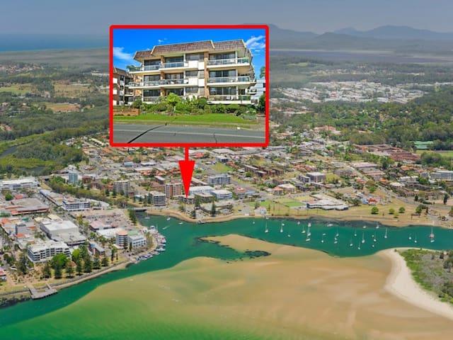 Trim's in Port: a large CBD apartment