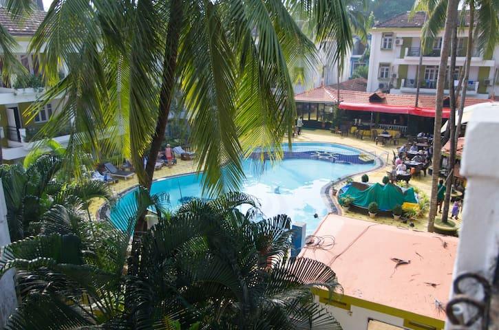 Furnished 2Bhk apt at 3* resort