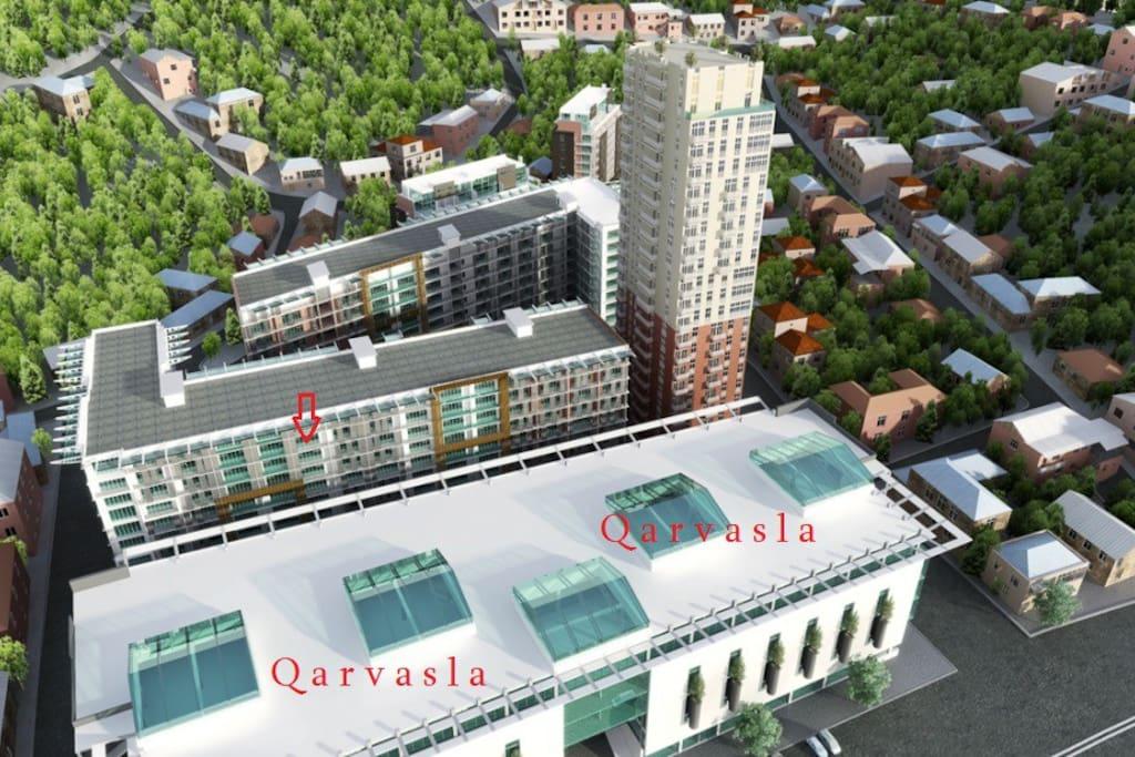 Qarvasla shopping centres