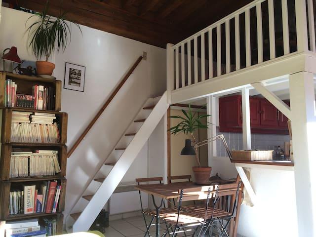 Studio chaleureux // Pentes de la Croix Rousse - Lyon - Apartament