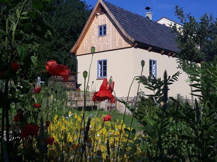 Biodomek v zahradě