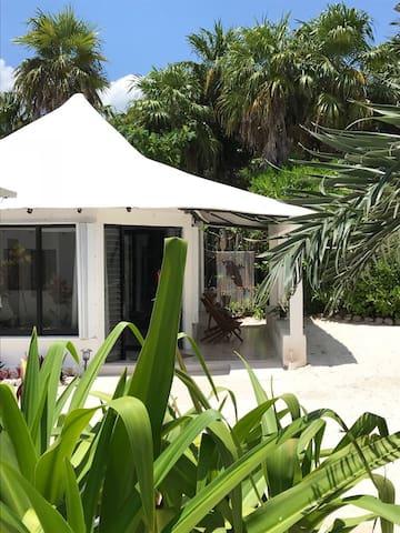 La Garza, Private Beach Bungalow Sian Ka'an, Tulum