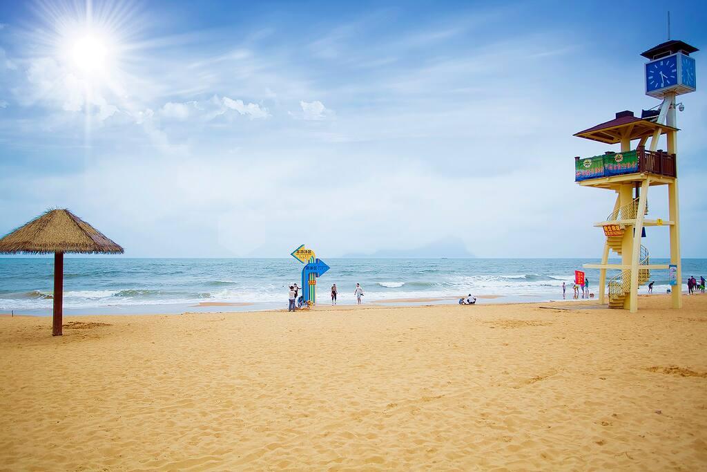 灵山湾海水浴场