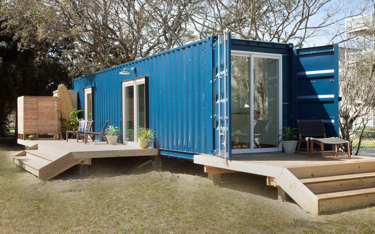 Modern Beach Container Home 2 Tiny