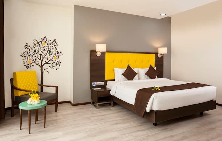 Mango Comfort Hotel Room - Airoli, Navi Mumbai