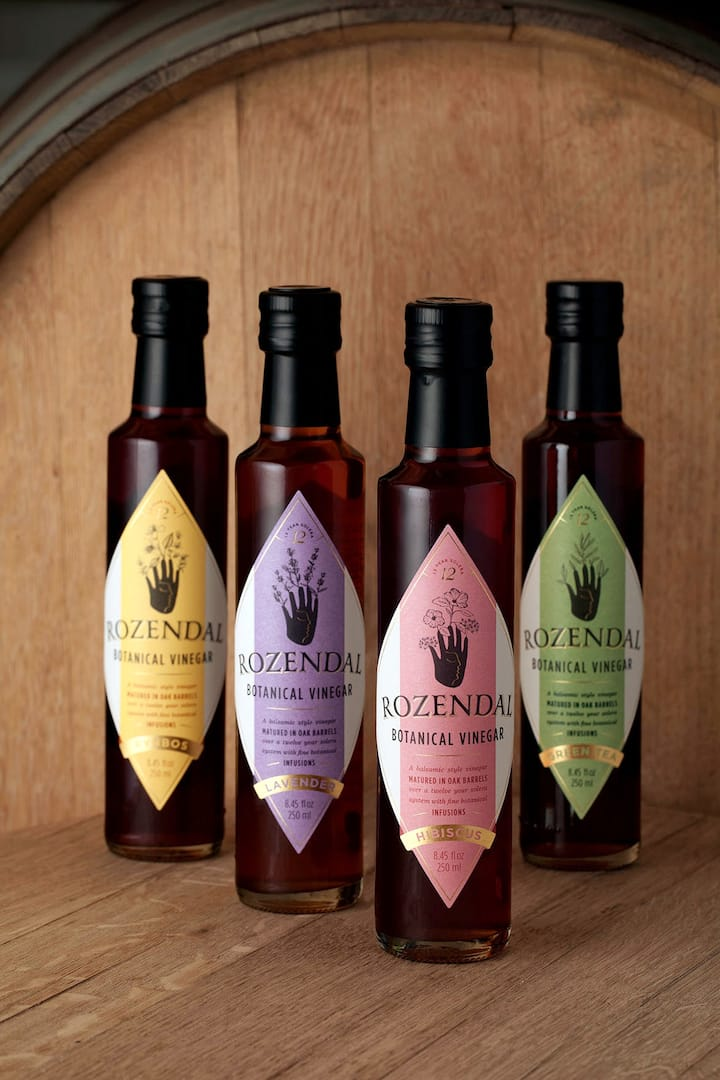 Botanical Vinegars