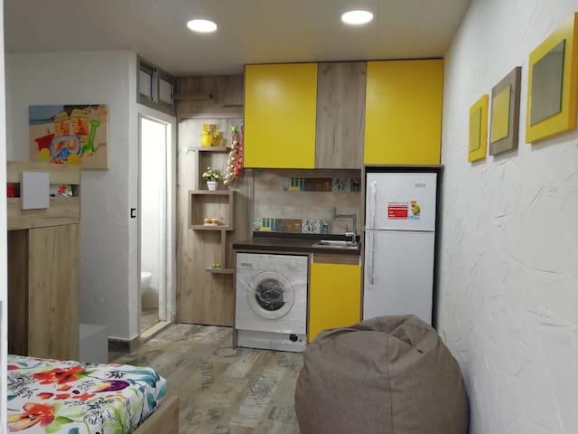 Studio renovated in Rawda-Dekwaneh, 1 night stay.