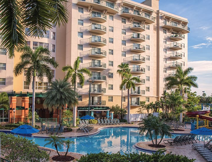 Pompano Beach FL- Wyndham Palm-Aire 1Bd-Sleeps 4