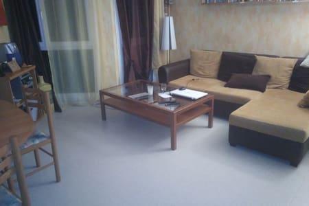 Habitación con una cama doble. 20mn Paris & Disney - Champigny-sur-Marne