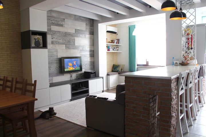 Modern family apartment in safe area of Bishkek