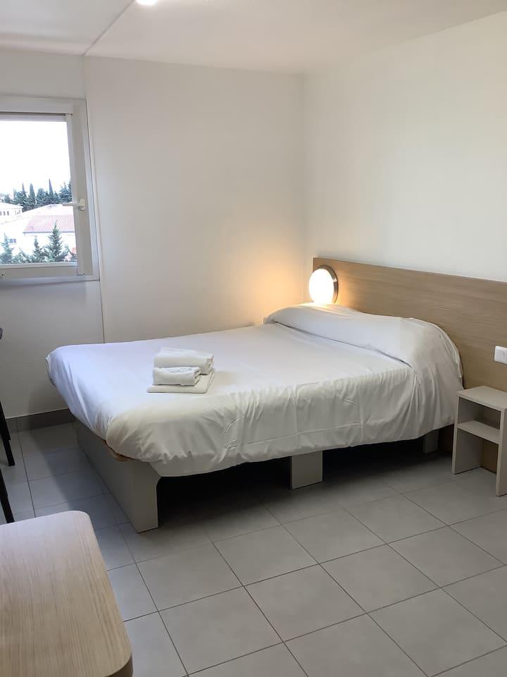 Appartement T1 20m² Résidence Hôtelière l'Eolienne