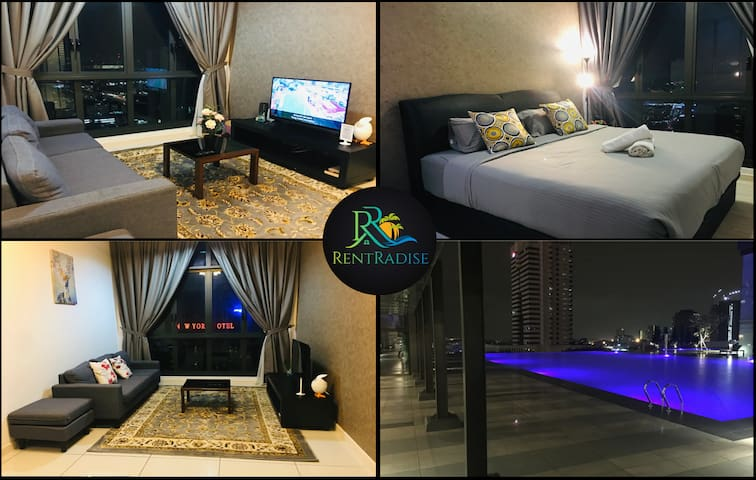 ❤️⭐【City Central】RentRadise Ivy Suite【Setia Sky88】