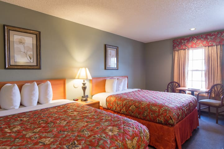 Family-Owned Inn in Downtown CB. Famous for Comfort, Value, and Friendliness!