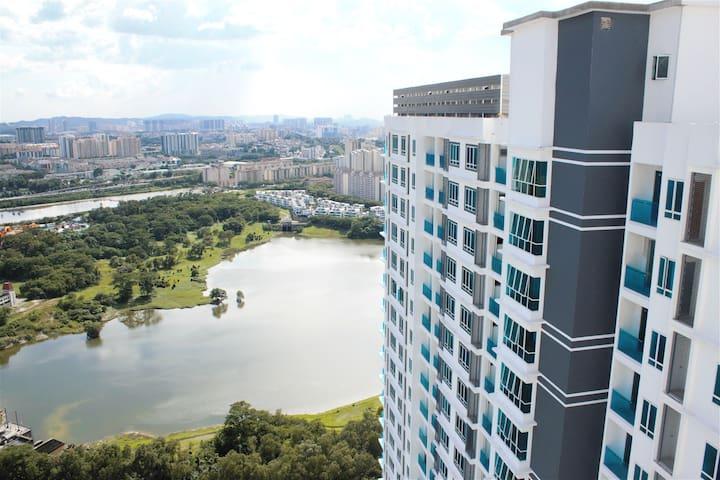 Contemporary #Stay KL SENTRAL - Kuala Lumpur - Flat