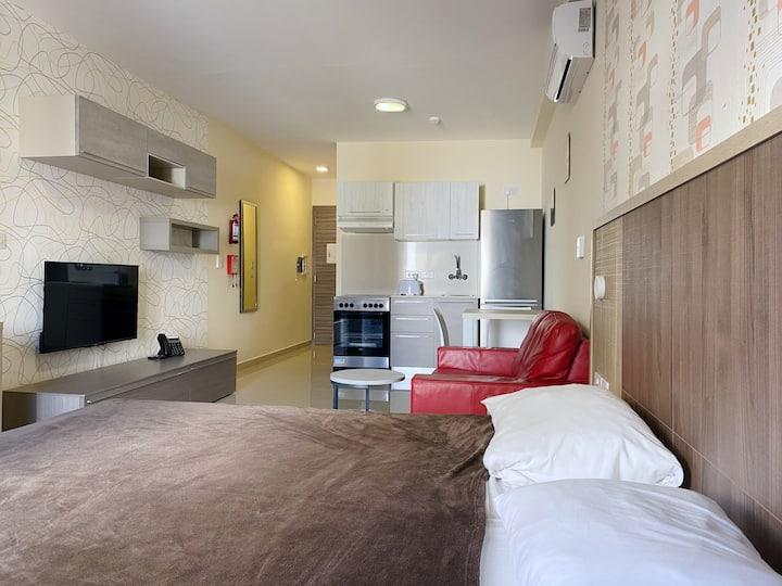 Modern Studio Apartment at Cast Apartments