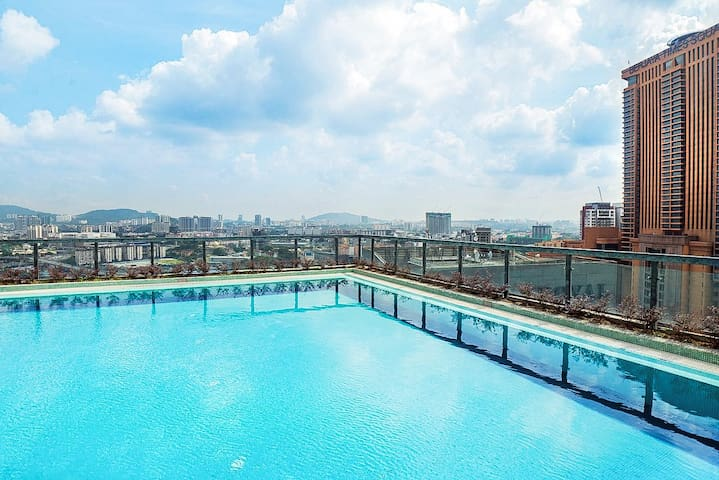 Perfect location@Bukit Bintang& CITY VIEW-KUL008