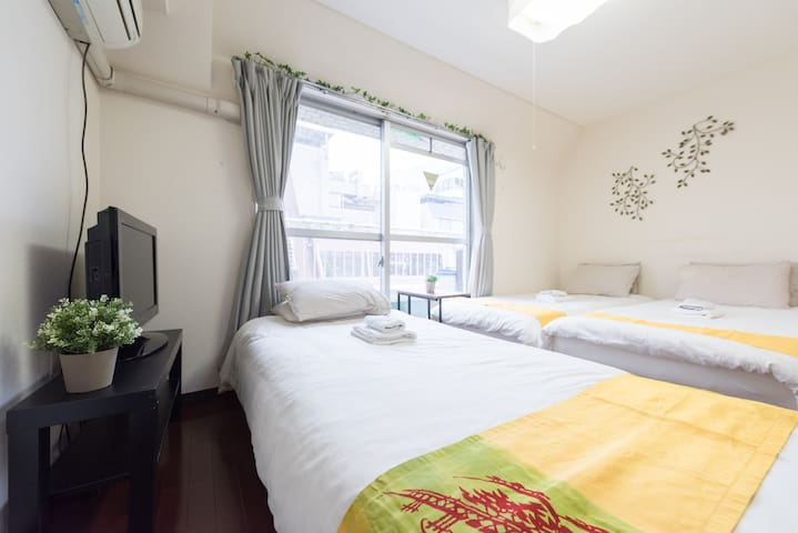 Cozy house in JR Sta./Suitable for couples /TW59 - Shinagawa-ku - Lägenhet