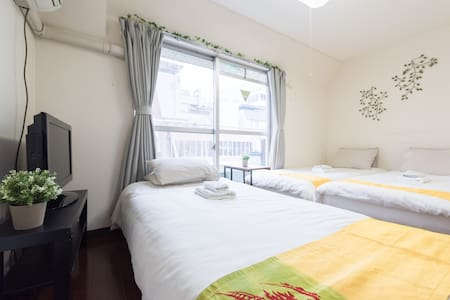 Cozy house in JR Sta./Suitable for couples /TW59 - Shinagawa-ku - Huoneisto
