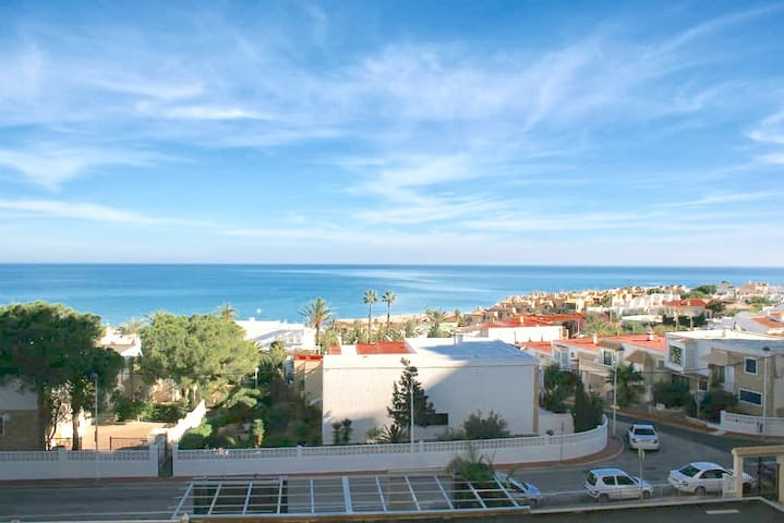 Sea view, La Mata, 5 minutes from the beach, WiFi