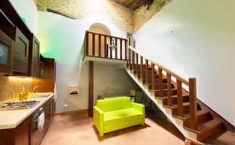 Incantevole appartamento nell'antico borgo di Loro Ciuffenna