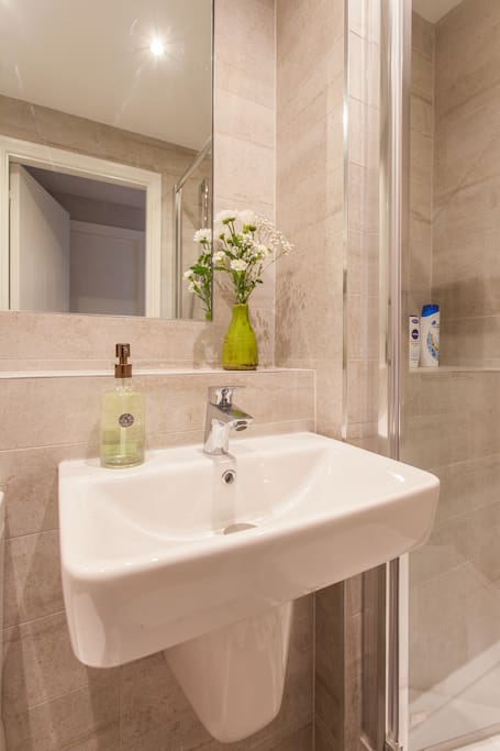 Your private shower to start day fresh and happy:)