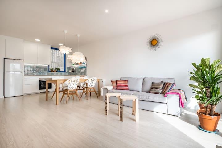 Apartamento artístico en Vilanova