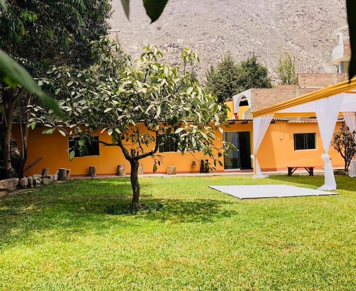 Casa de Campo PARCA Santa Eulalia- Chosica-Lima