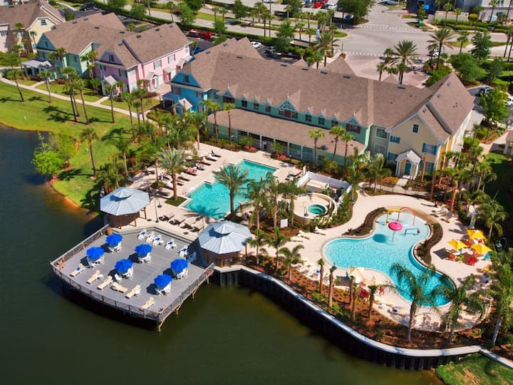 2 bedrooms Loft Beach Club Waterpark Near Disney