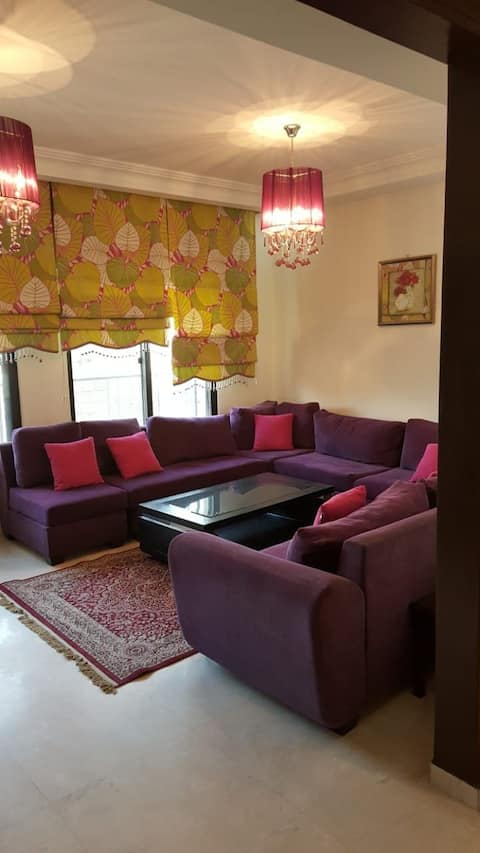 Fully equipped apartment middle of western Amman