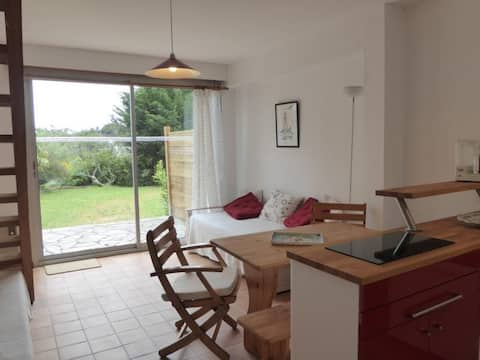 Golfe du Morbihan - Kerners -Maison mitoyenne 3 couchages (015) - FR-1-531-56