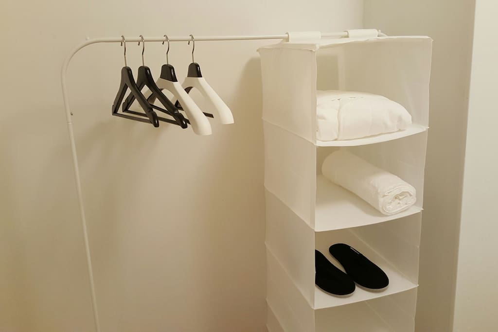 Professionally washed bathrobe, towels and slippers are provided for your convenience.