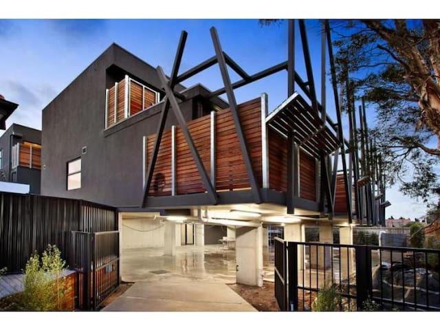 Appealing apartment in secure block - Saint Kilda East - Huoneisto