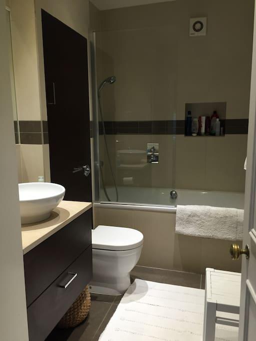 Lovely modern  bathroom