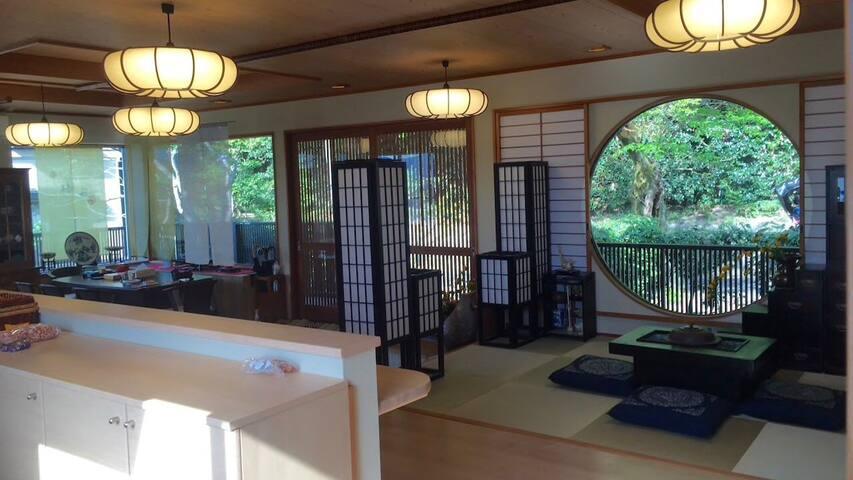 【合法经营】京都和风庭院,京都樱花最美的哲学之道旁,近红叶最美的永观堂,南禅寺,银阁寺,高级住宅享受