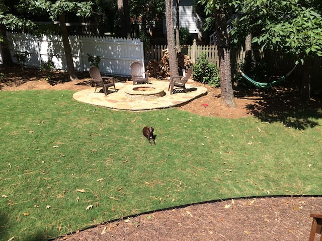 Dog friendly family home in Lawrenceville, GA