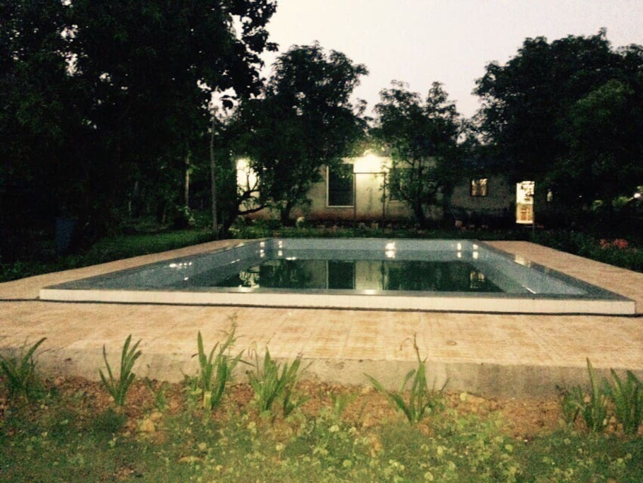 Private Swimming Pool Farmhouse At Karjat Bungalows For Rent In Karjat Maharashtra India
