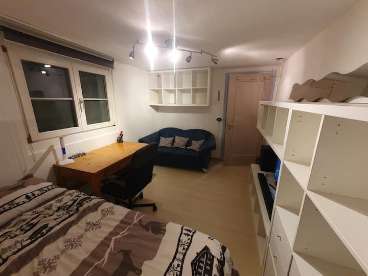 Zimmer mit Dusche/WC, in 6073 Flüeli-Ranft