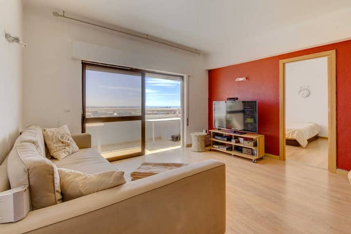 Albufeira Sea View Centre Located Apartment