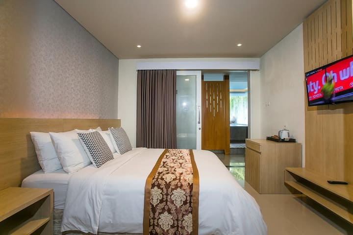 Elegance Space Share Pool+24HoursStaff+Sanur Beach