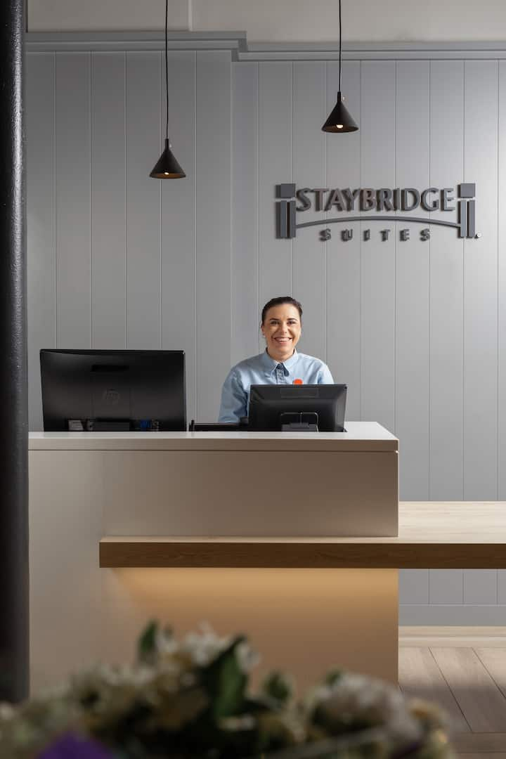 Staybridge Apartments, your home away from home
