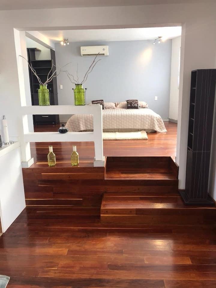 Moderno Loft Suite ejecutiva cerca de Perisur