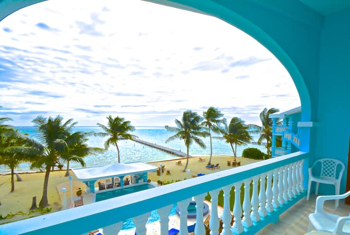 Beautiful Beachfront Belize 3 Bed/2 Bath Villa