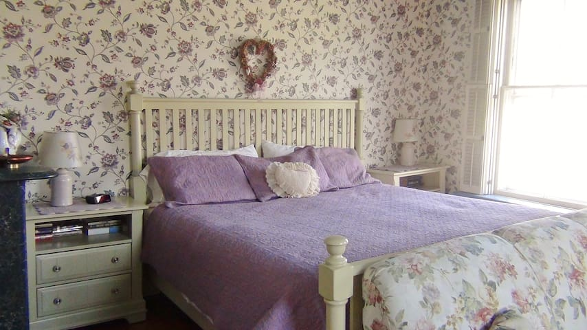 "Private ""Rose"" Room in Historic Downtown Vergennes - Vergennes - House"