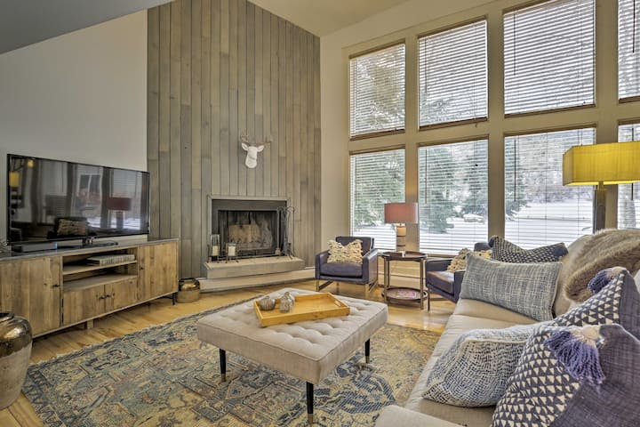 Bright & Spacious EagleVail Escape Near BC & Vail!
