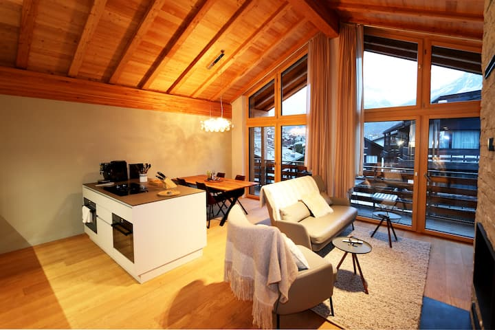 Derby 3 – Newly built apartment in perfect location, ski in-out