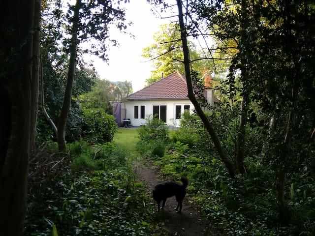 Achterkant huis - Rückseite des Hauses