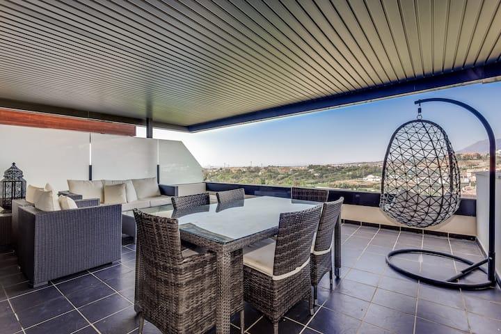 Amazing apartment, panoramic views-Los Flamingos