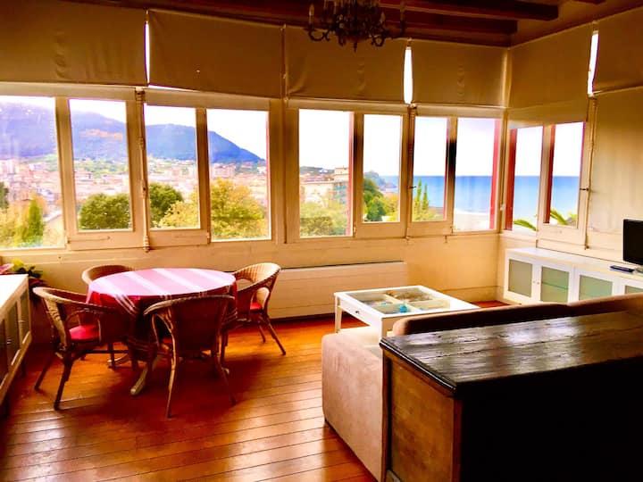 Apartamento con maravillosas vistas mar