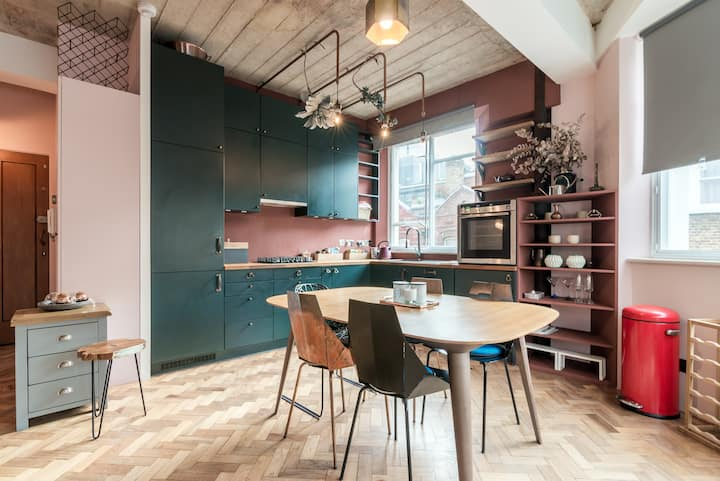 Gorgeous 1 bed in Clerkenwell for up to 4 guests!